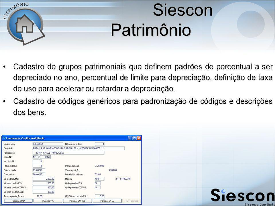 Siescon Patrimônio