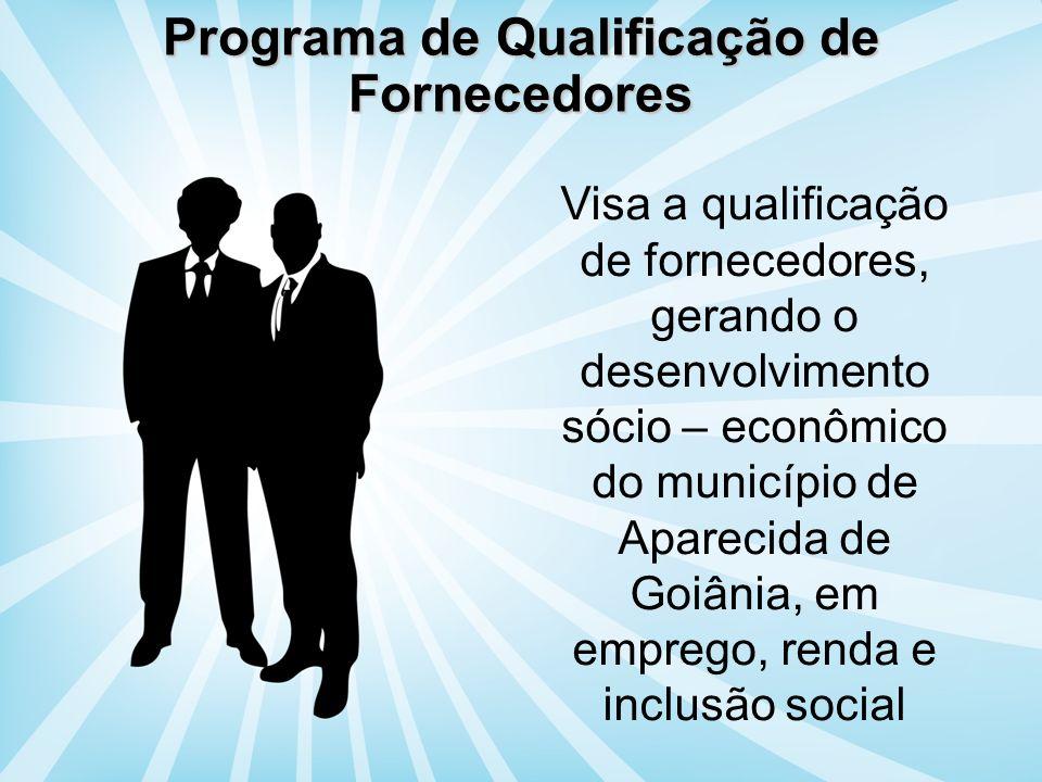 Programa de Qualificação de Fornecedores