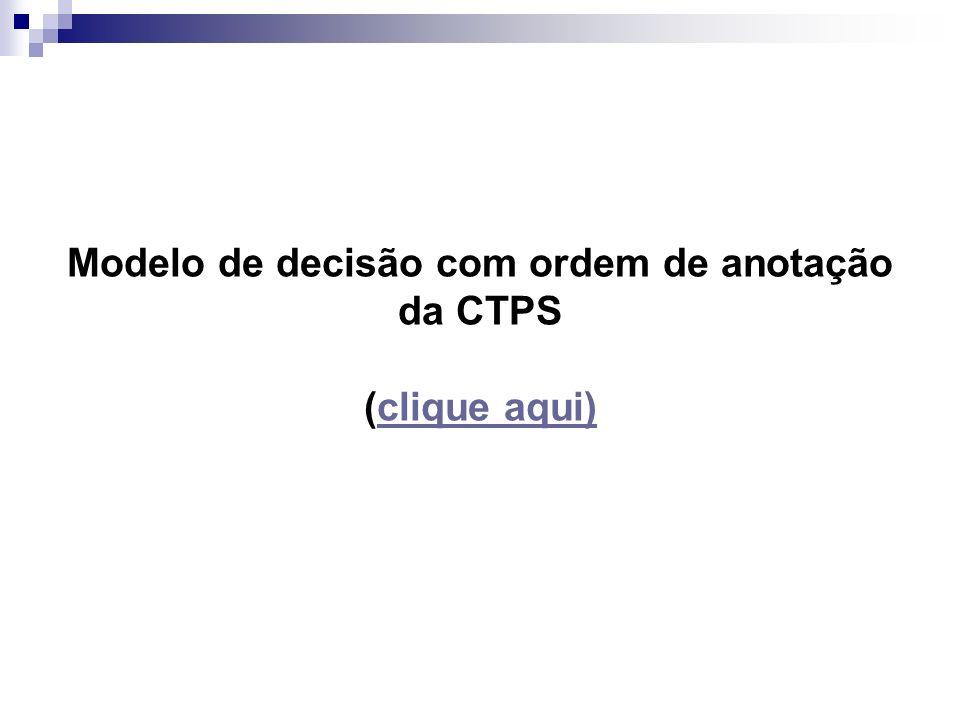 Modelo de decisão com ordem de anotação da CTPS (clique aqui)