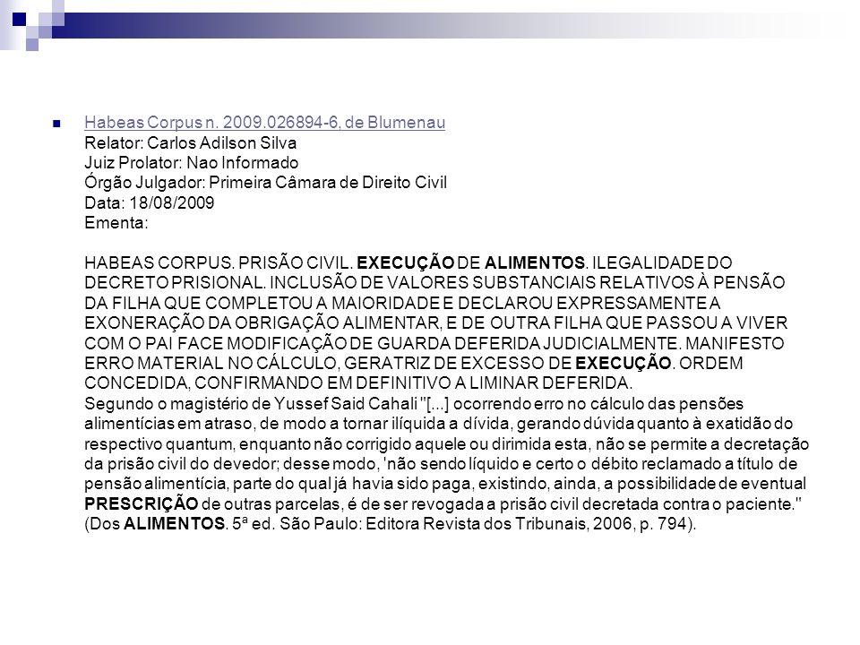 Habeas Corpus n.