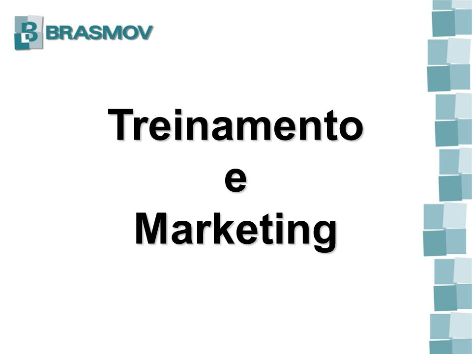 Treinamento e Marketing