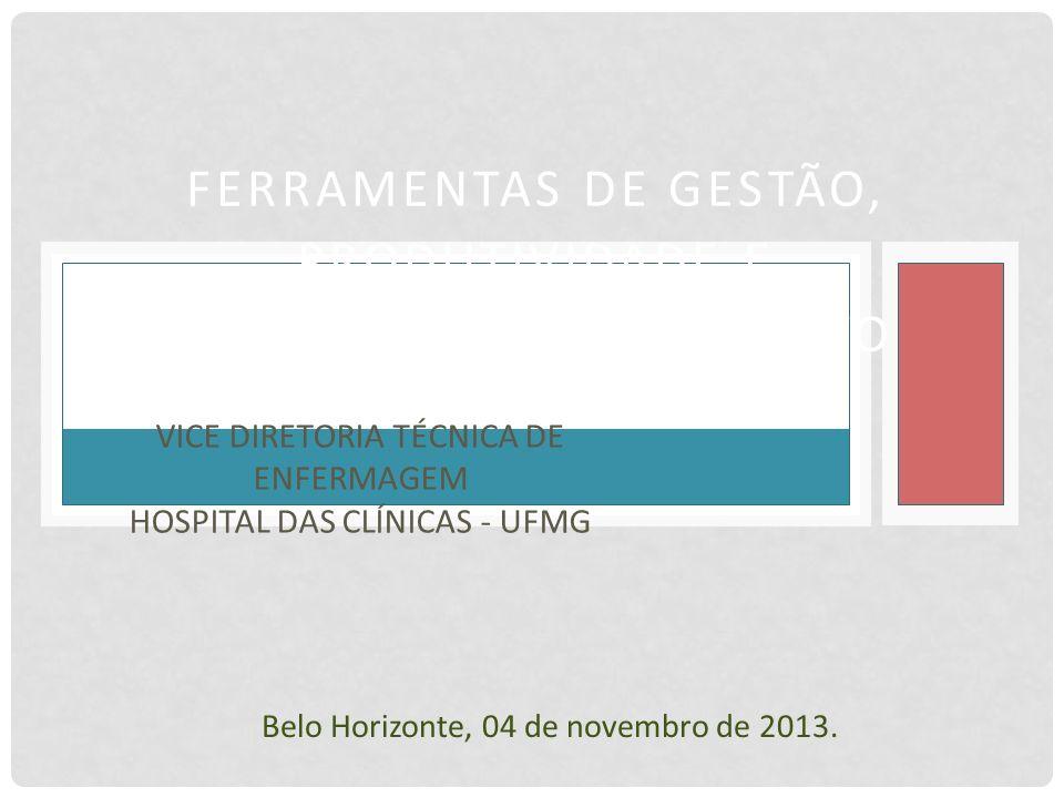 Vice Diretoria Técnica de Enfermagem Hospital das Clínicas - UFMG