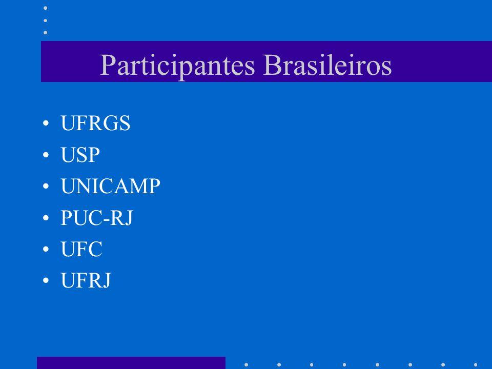Participantes Brasileiros