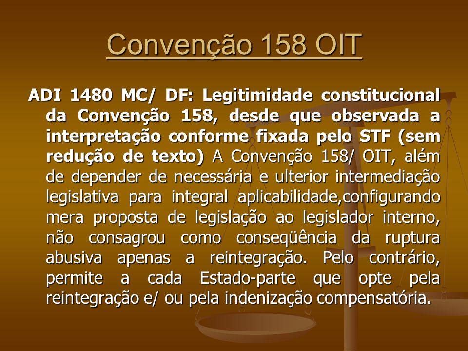 Convenção 158 OIT