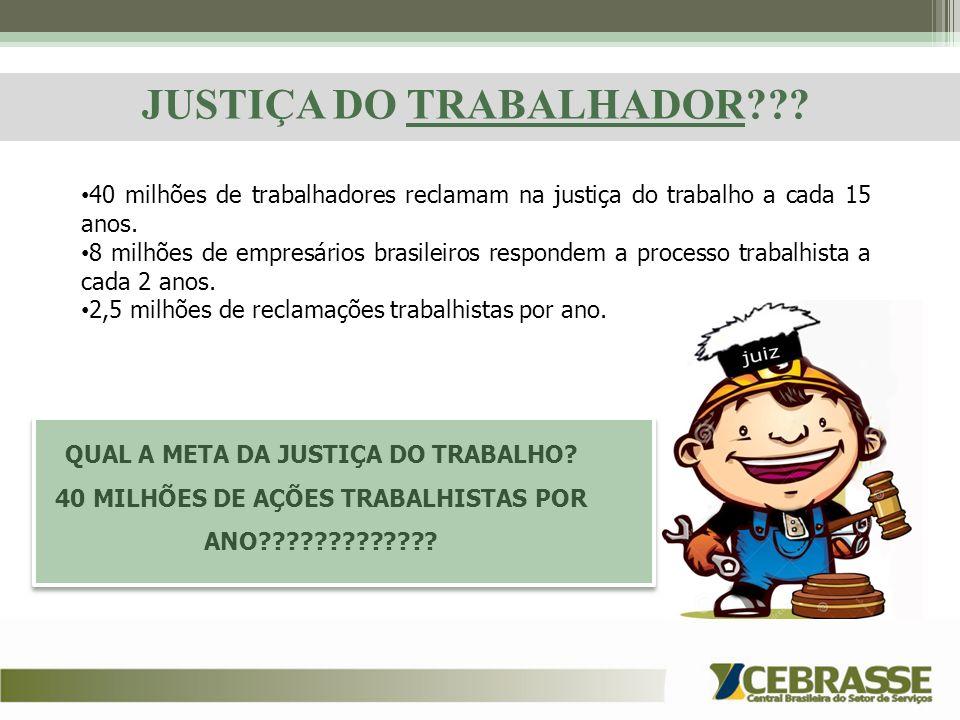 JUSTIÇA DO TRABALHADOR
