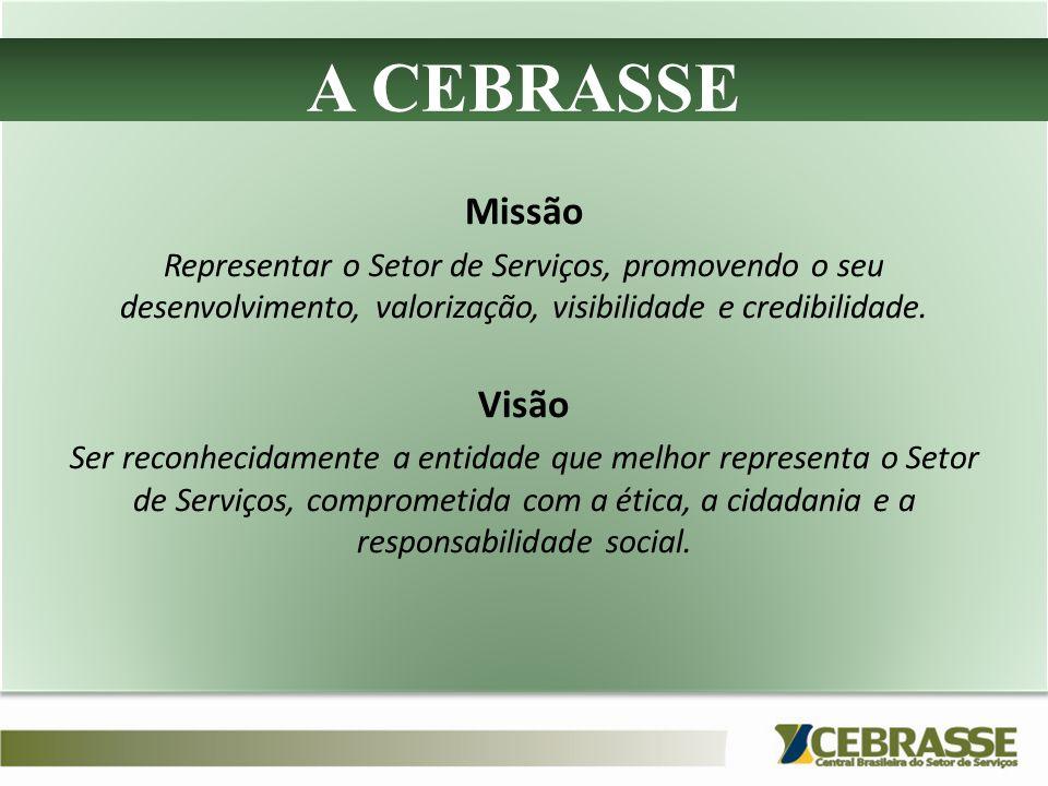 A CEBRASSE Missão Visão