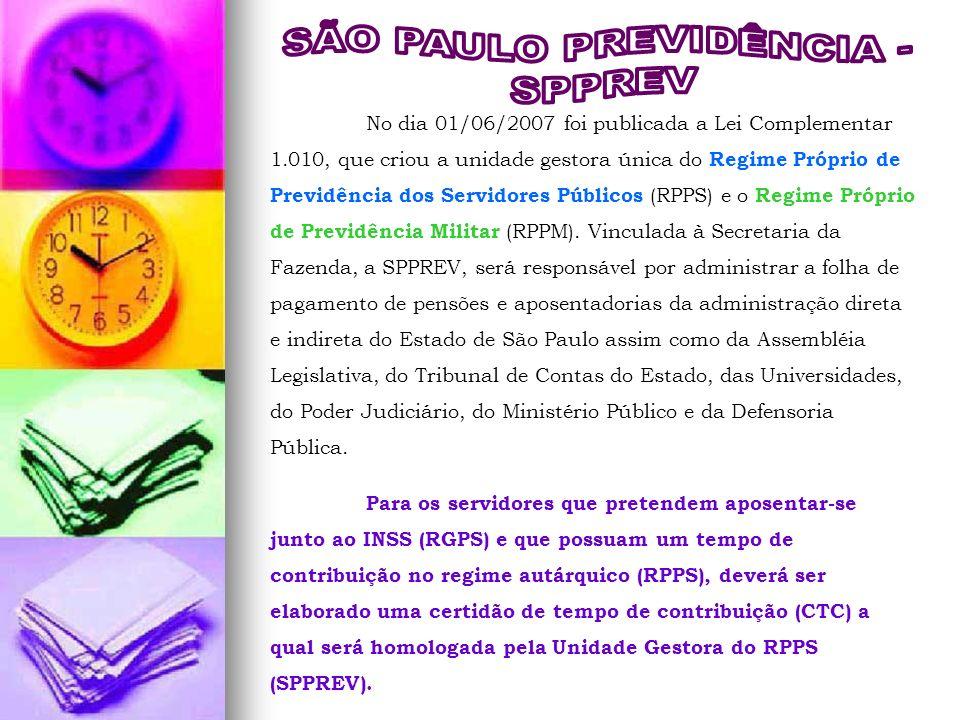 SÃO PAULO PREVIDÊNCIA -