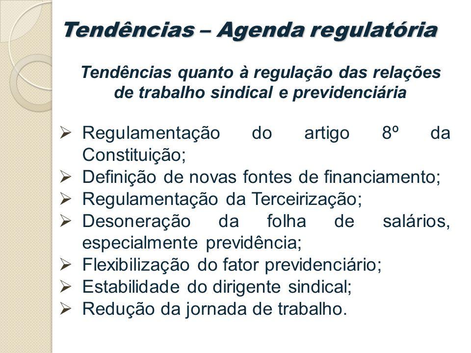 Tendências – Agenda regulatória