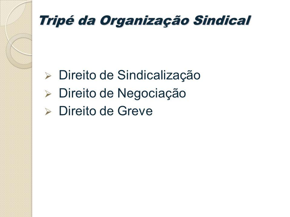 Tripé da Organização Sindical