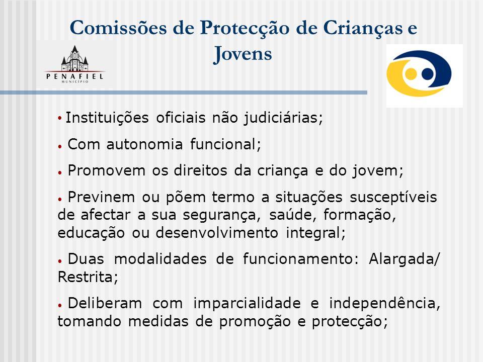 Comissões de Protecção de Crianças e Jovens