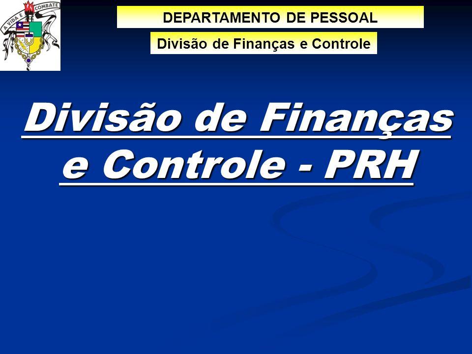 Divisão de Finanças e Controle - PRH