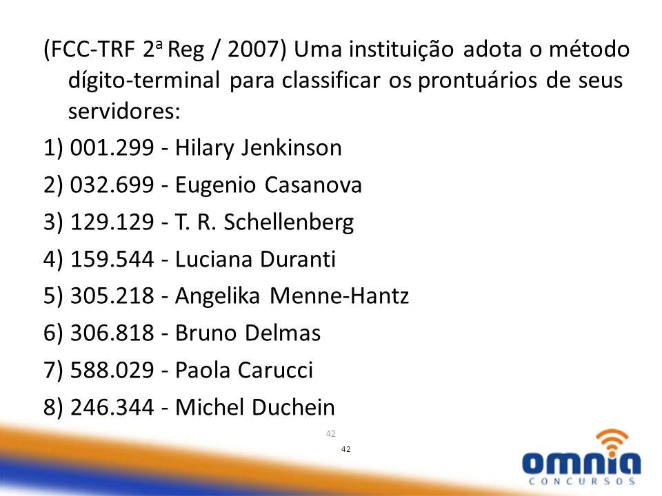 5) 305.218 - Angelika Menne-Hantz 6) 306.818 - Bruno Delmas