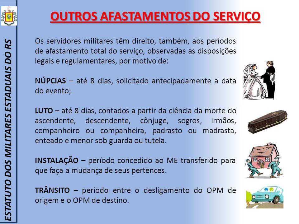 OUTROS AFASTAMENTOS DO SERVIÇO