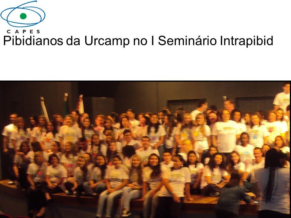 Pibidianos da Urcamp no I Seminário Intrapibid
