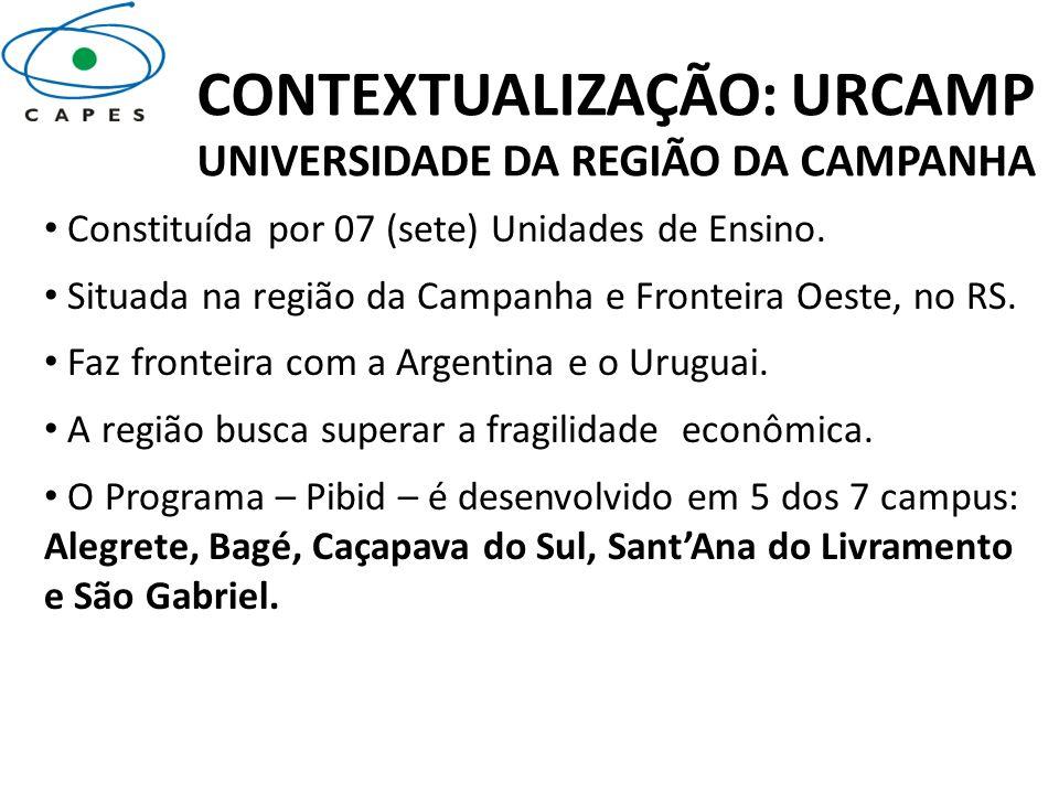 CONTEXTUALIZAÇÃO: URCAMP UNIVERSIDADE DA REGIÃO DA CAMPANHA