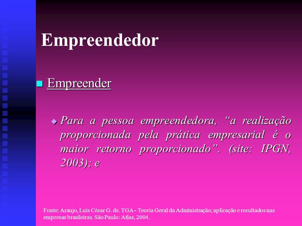 Empreendedor Empreender