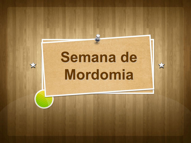 Semana de Mordomia