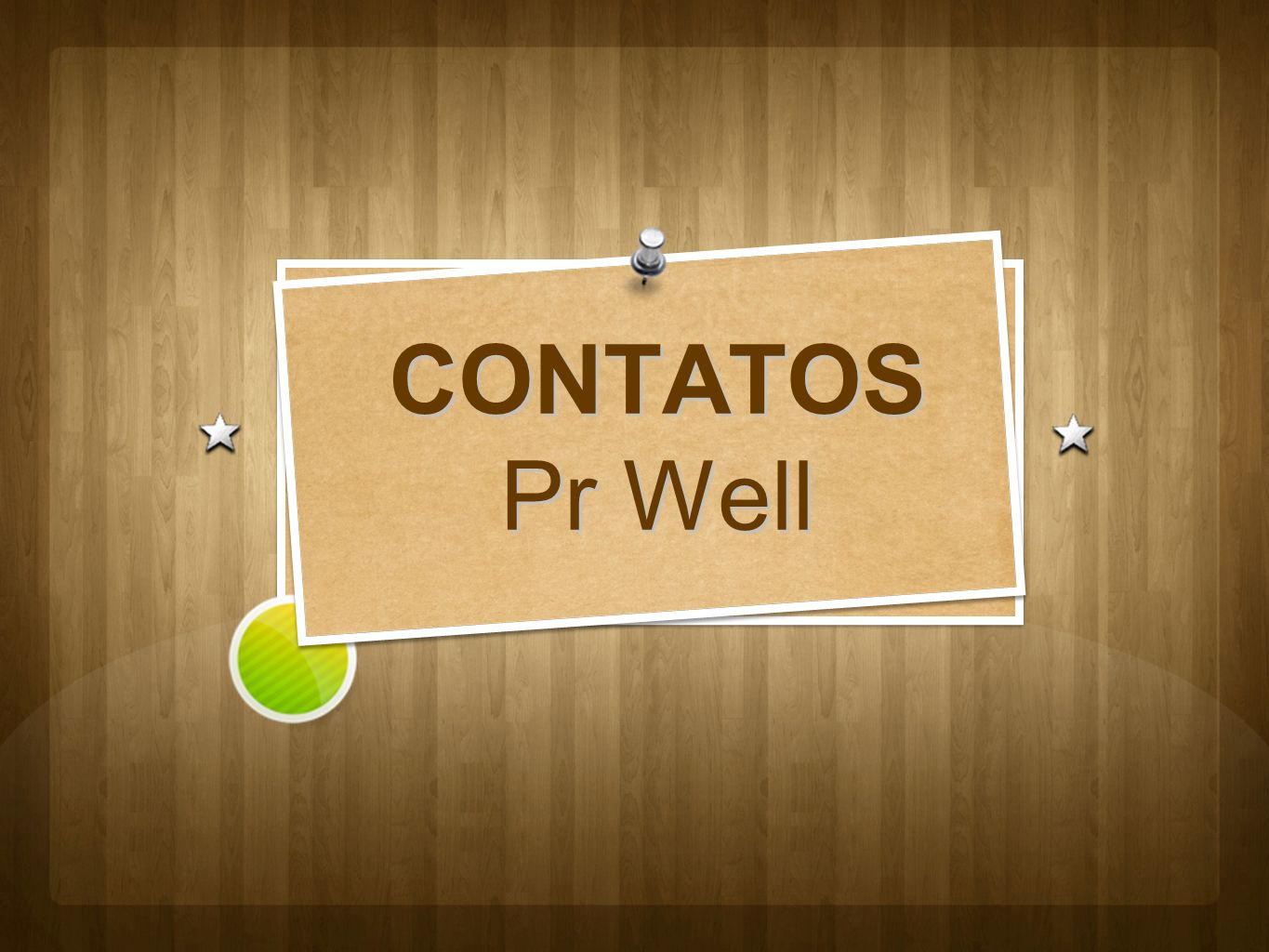 CONTATOS Pr Well