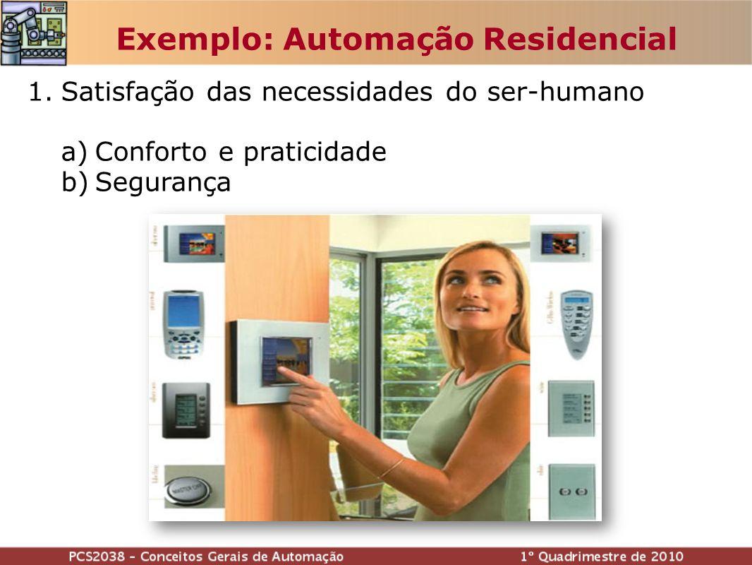 Exemplo: Automação Residencial