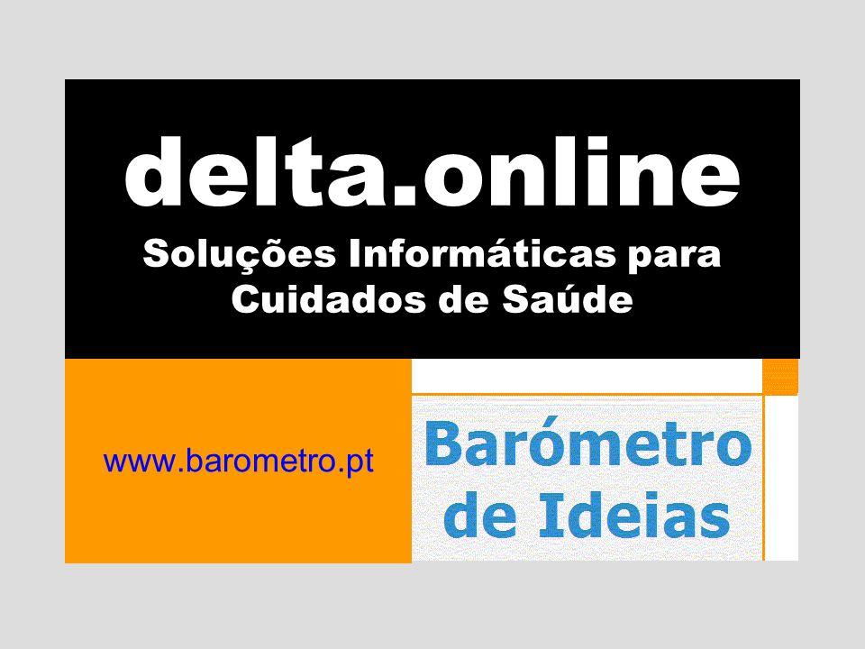 delta.online Soluções Informáticas para Cuidados de Saúde