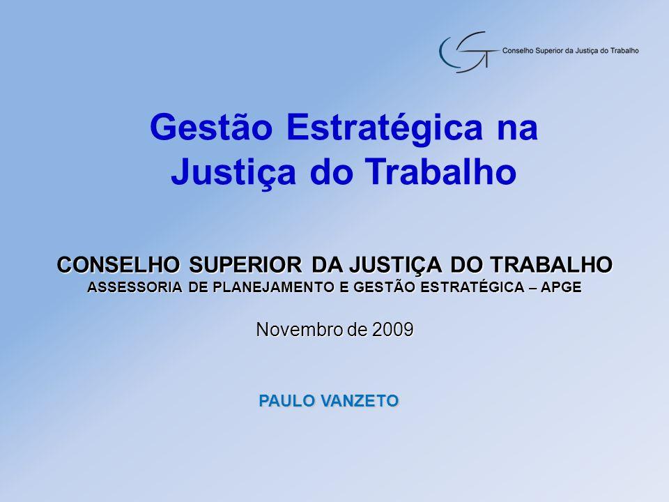 Gestão Estratégica na Justiça do Trabalho