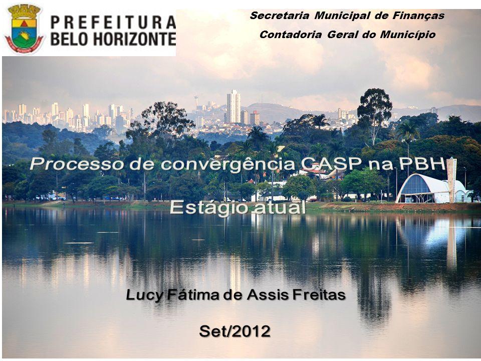 Processo de convergência CASP na PBH Estágio atual