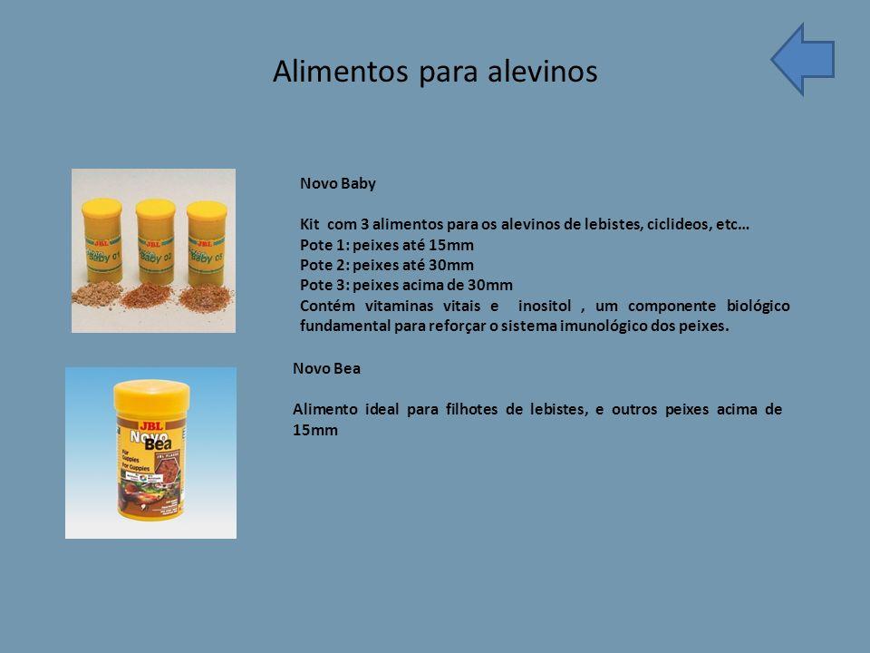 Alimentos para alevinos