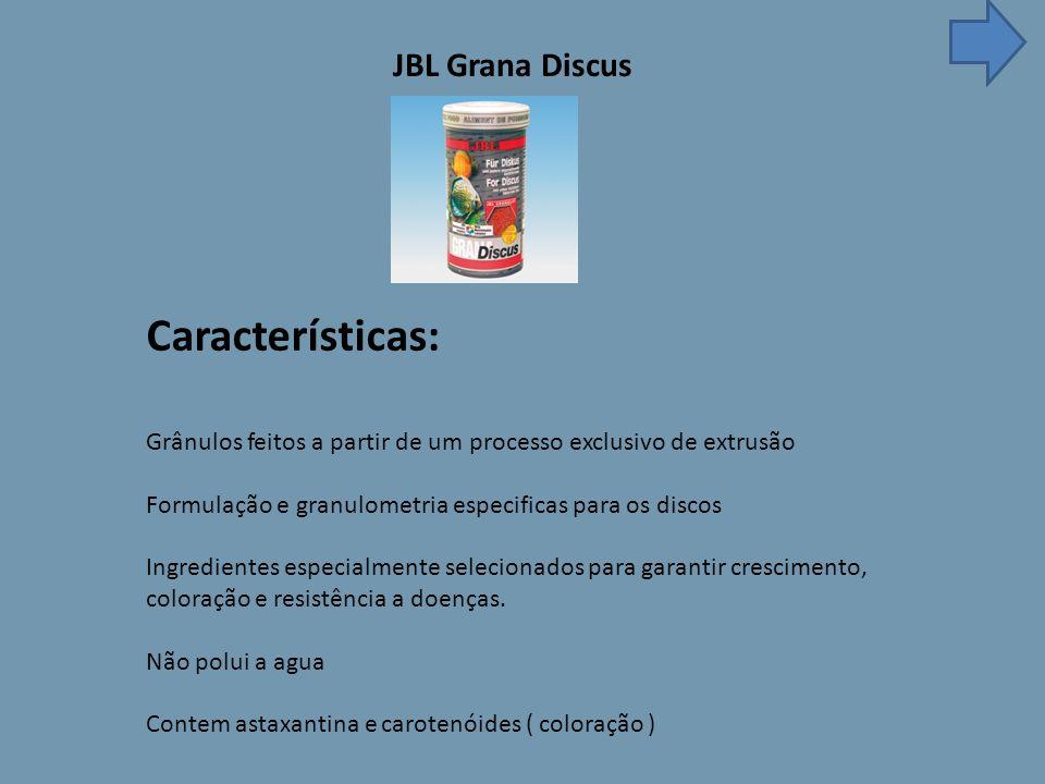 Características: JBL Grana Discus