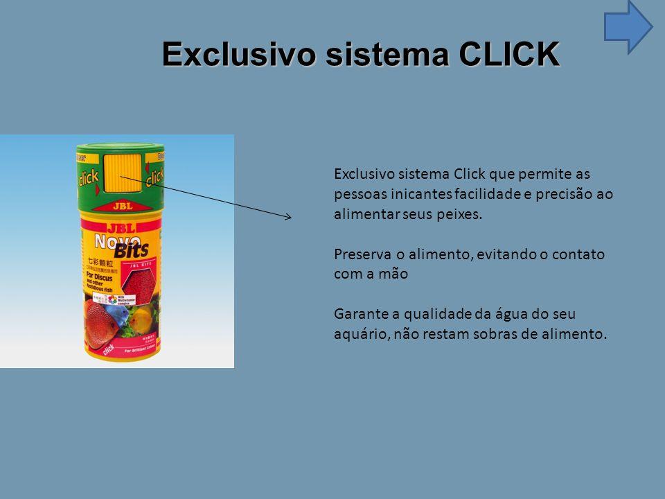 Exclusivo sistema CLICK