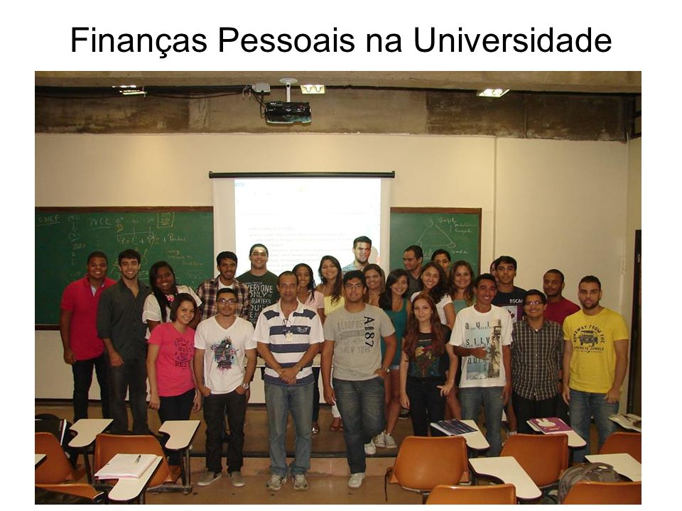 Finanças Pessoais na Universidade