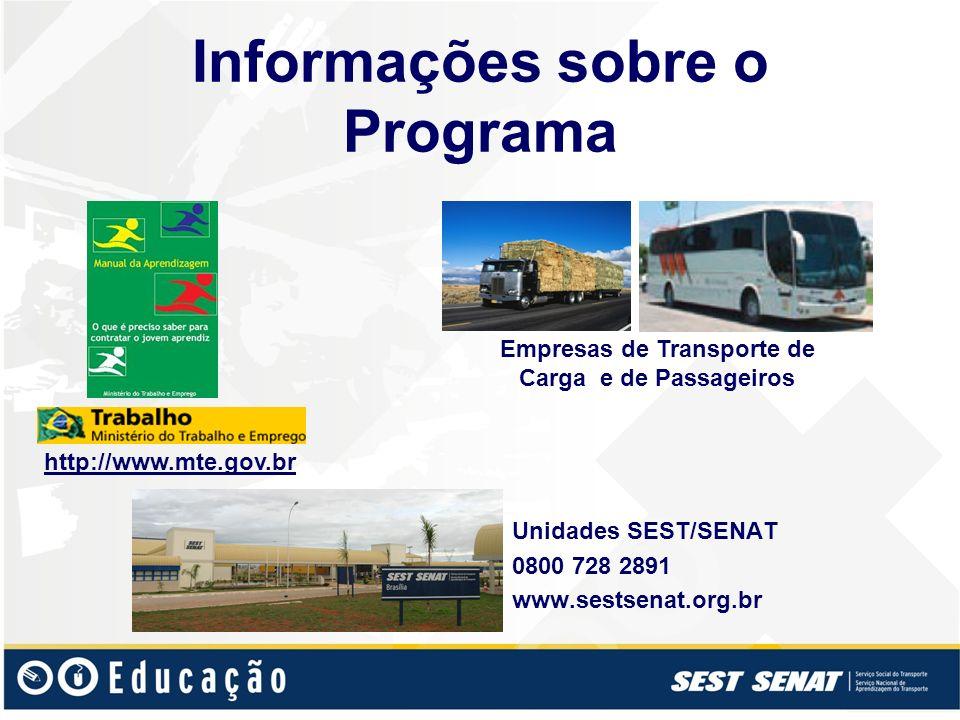 Informações sobre o Programa