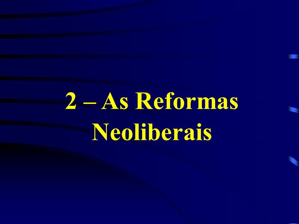 2 – As Reformas Neoliberais
