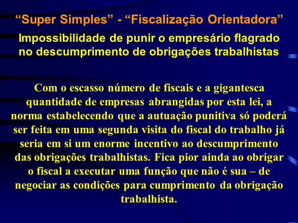 Super Simples - Fiscalização Orientadora