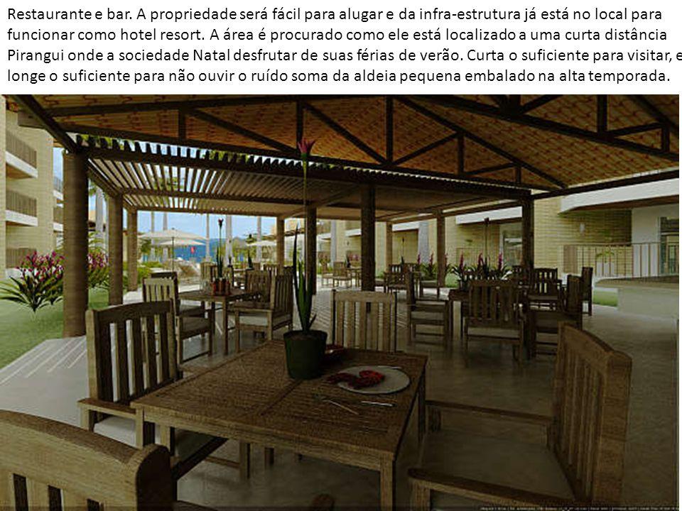Restaurante e bar.
