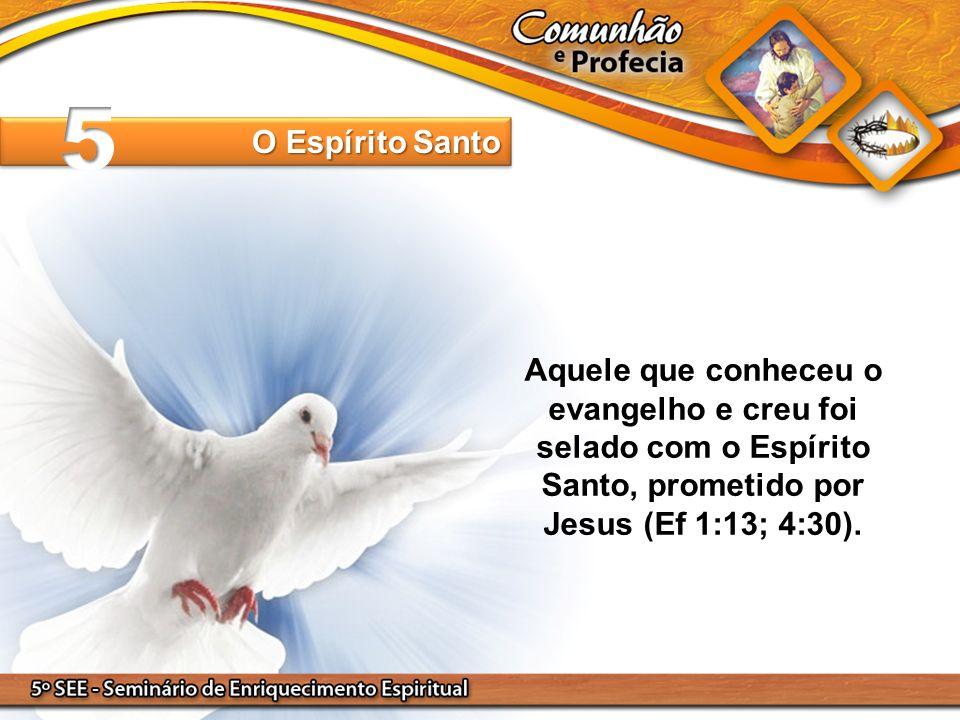 5 O Espírito Santo.