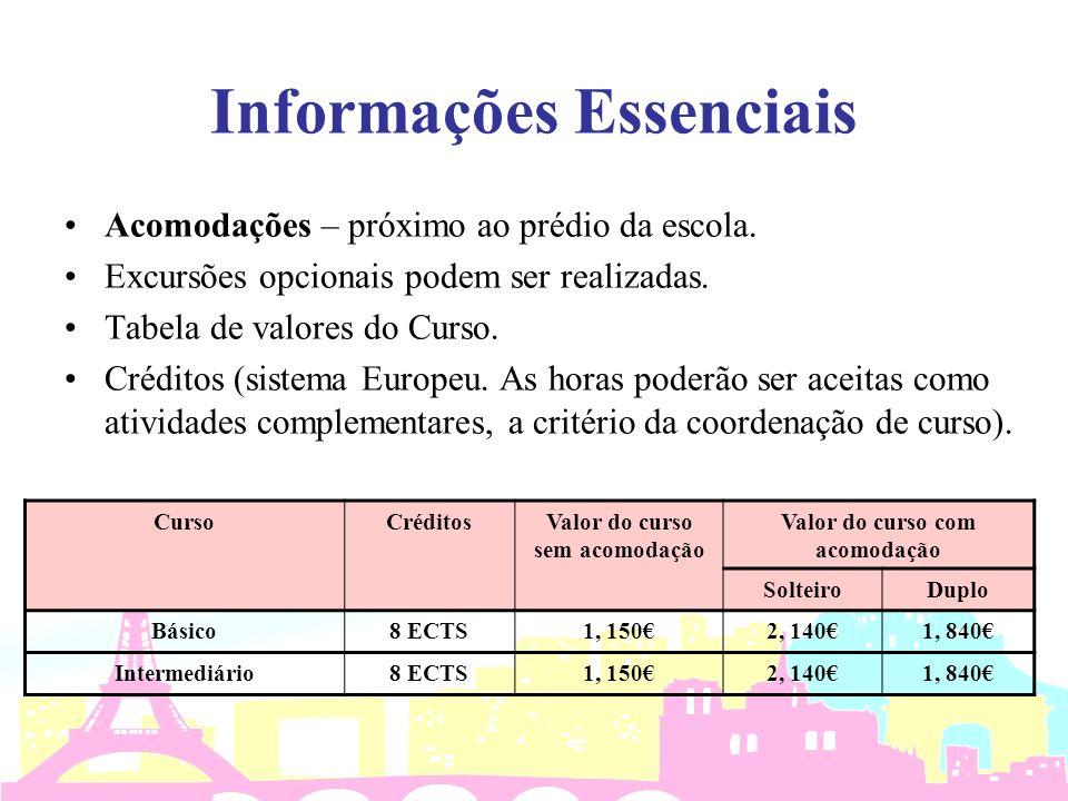 Informações Essenciais