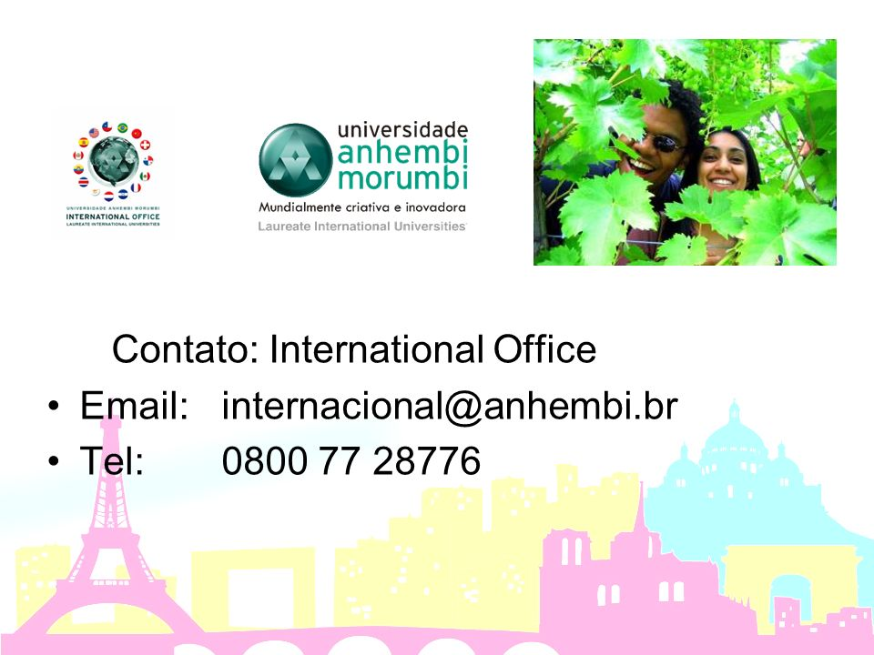 Contato: International Office