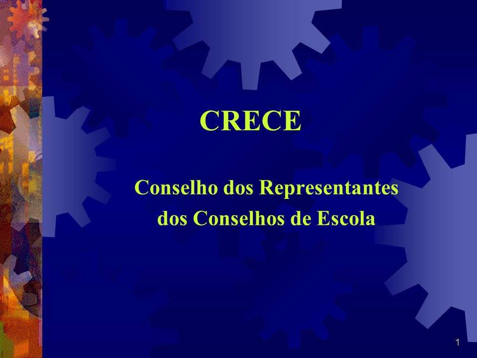 Conselho dos Representantes dos Conselhos de Escola