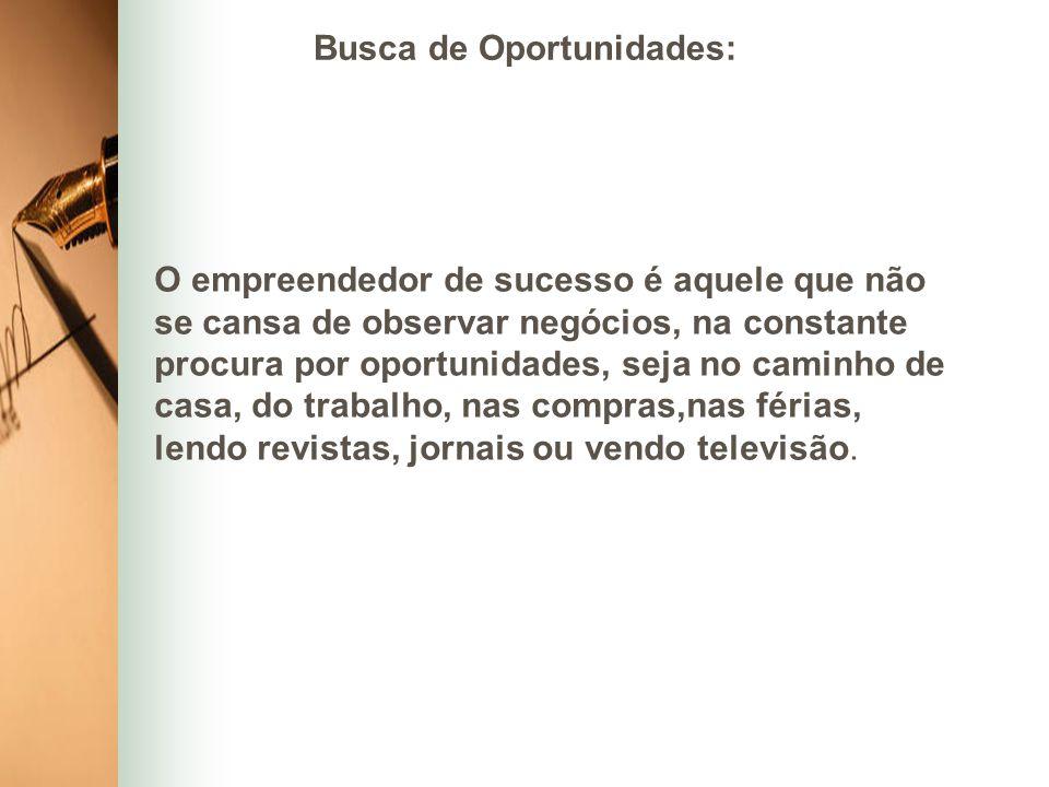 Busca de Oportunidades: