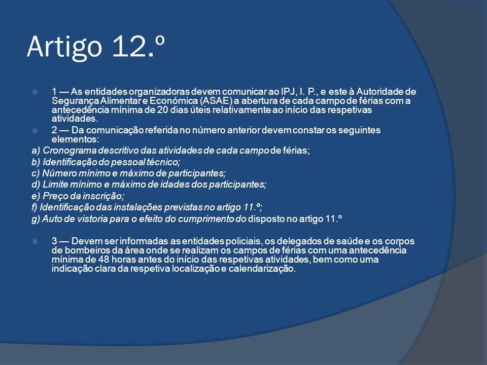 Artigo 12.º