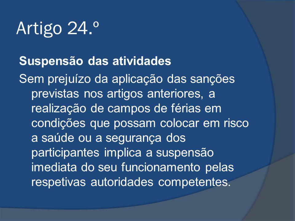 Artigo 24.º