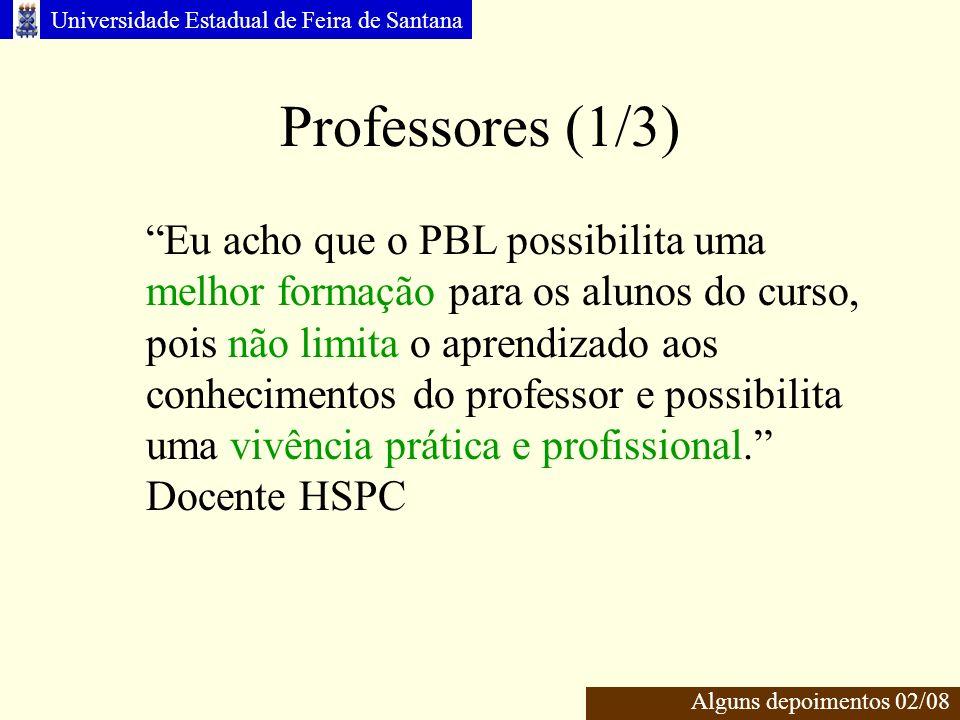Professores (1/3)