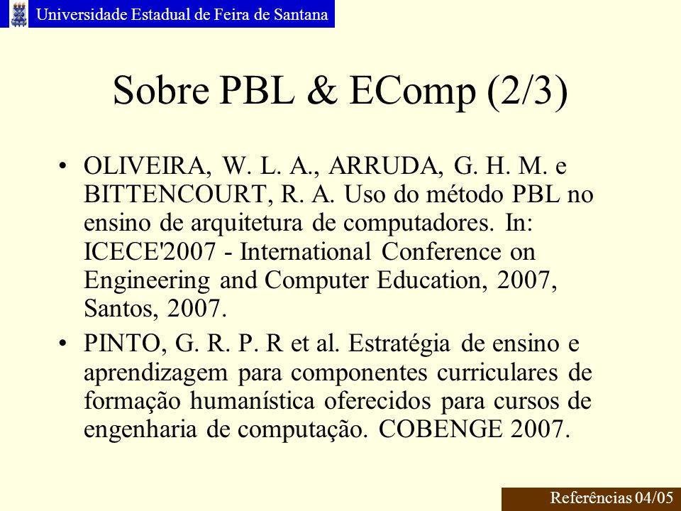 Sobre PBL & EComp (2/3)