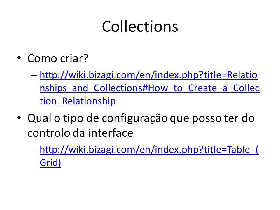 Collections Como criar