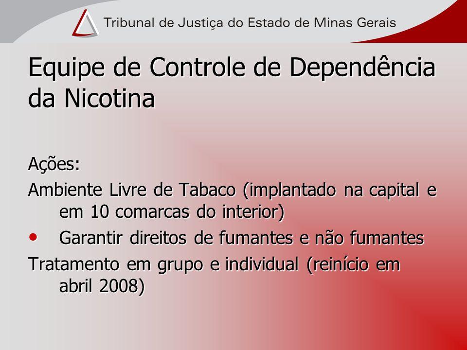 Equipe de Controle de Dependência da Nicotina