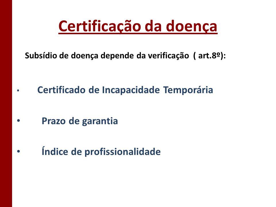 Certificação da doença