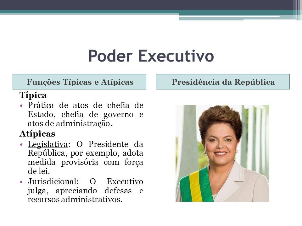 Funções Típicas e Atípicas Presidência da República