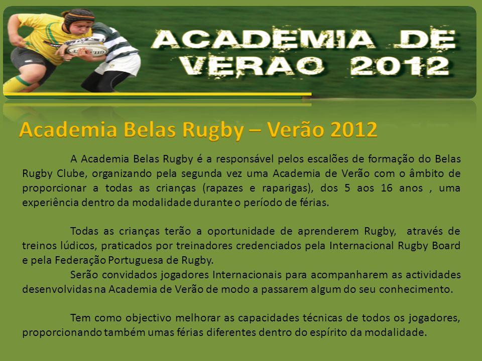 Academia Belas Rugby – Verão 2012