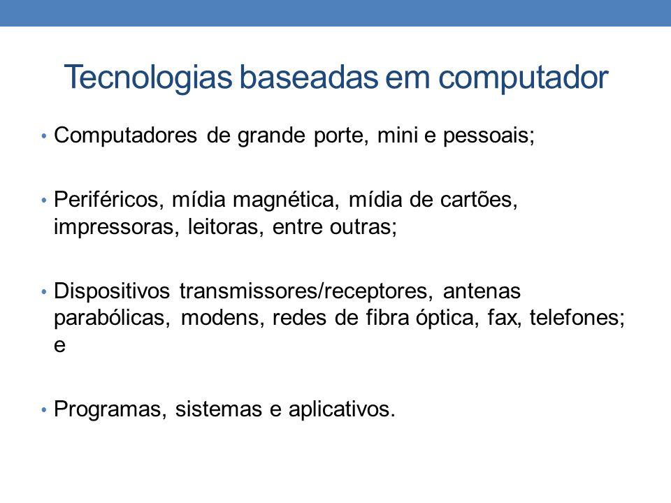 Tecnologias baseadas em computador