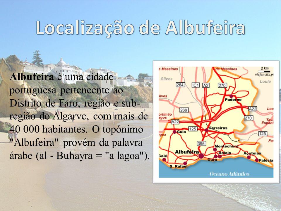 Localização de Albufeira